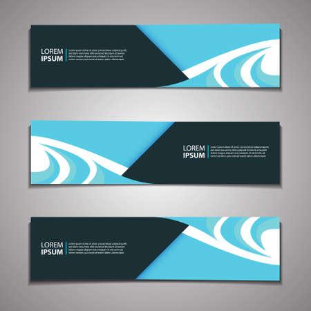 Illustration pour Label Banner Background Modern Business Corporate Template Design Web - image libre de droit