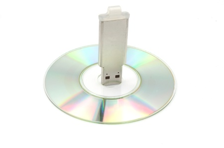 CD  and pendrive