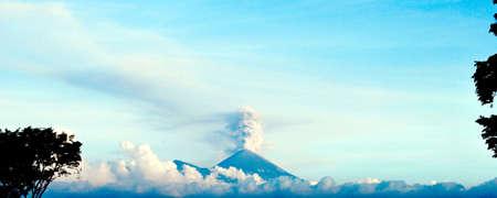 Semeru is the most active volcano on Java Island