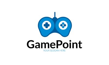Illustration pour Game Point Logo - image libre de droit