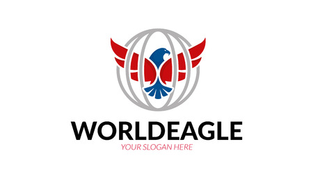 World Eagle Logo on a white background