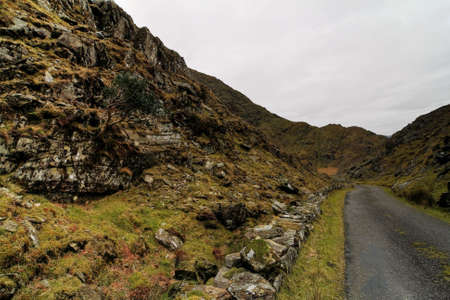 Beautifull pass in hills of Dingle