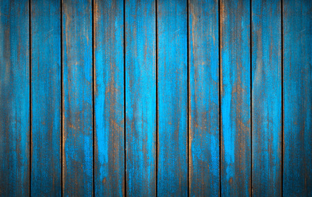 Photo pour Blue washed wood texture. background old panels in high detailed photo - image libre de droit
