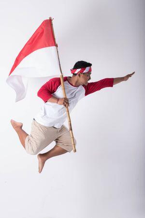 Photo pour patriotic nationalism concept. independence day - image libre de droit