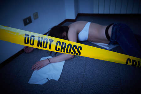 Photo for crime scene - Royalty Free Image