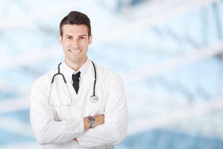 Photo pour male doctor - image libre de droit