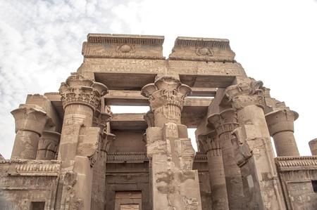 Temple of Sobek at Kom Ombo and Haroeris in Egypt