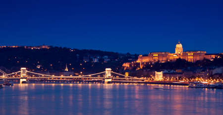 Night lights in Budapest-Hungary