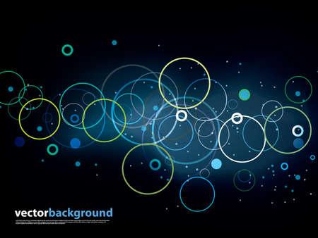 Illustration pour Abstract vector backgrounda - image libre de droit