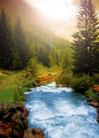 Foto per Mountain landscape - Immagine Royalty Free