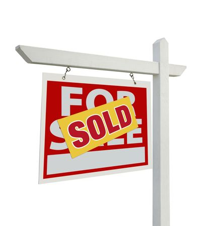 Sold For Sale Real Estate Sign