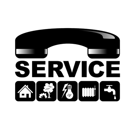 symbol for facility management with different services