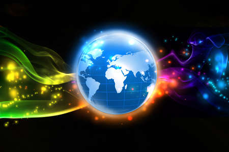 World of colorful
