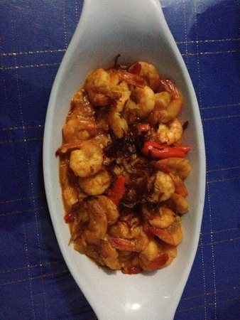 Shrimp chilli sauce