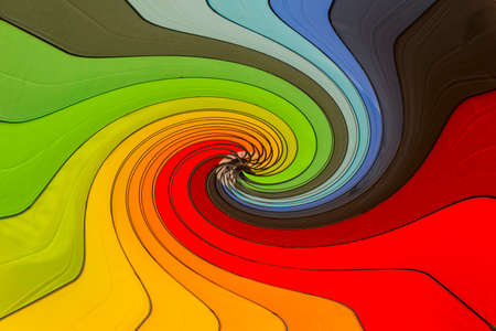 abstract photo of multicolored umbrella