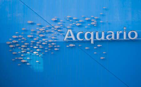 genoa aquarium with fish