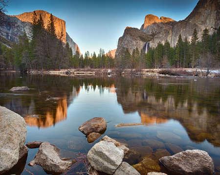 Yosemite Valley Reflections