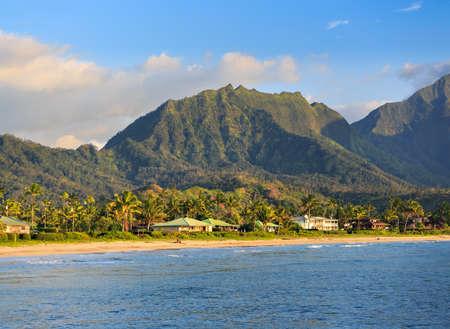 Hanalei Beach on Kauai, Hawa