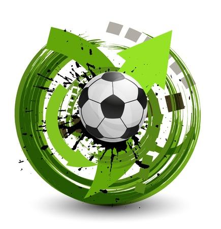 Ilustración de Soccer ball  - Imagen libre de derechos
