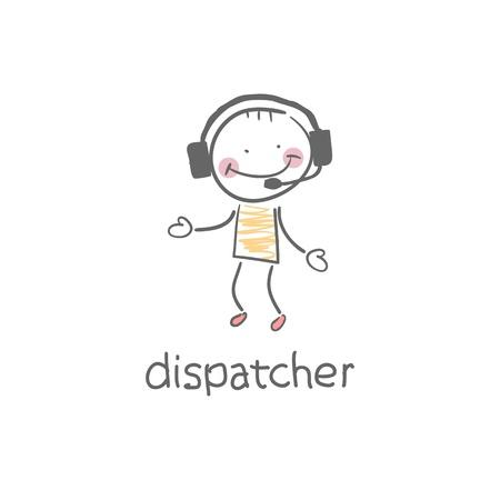 Dispatcher  Illustration