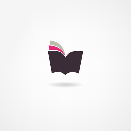 Illustration pour book icon - image libre de droit