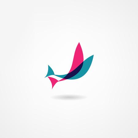 Vektor für fish icon - Lizenzfreies Bild
