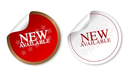 New available stickers
