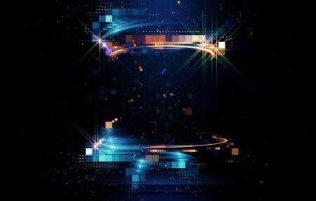 Photo pour Light arena abstract background - image libre de droit