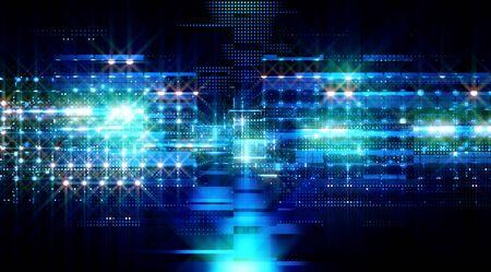 Photo pour Data storage service. Server room concept. Modern web network. - image libre de droit