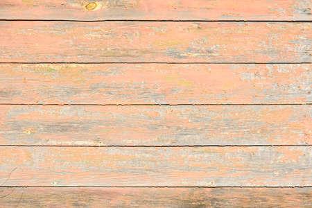 Foto de old, peeling paint on wooden boards, craquelure - Imagen libre de derechos