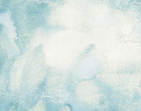 Pale Watercolor Wash Wallpaper Mural