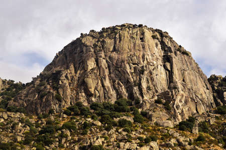 Pico de la Miel, of 1,392 m 2, located in the Sierra de La Cabrera in the Community of Madrid. spain
