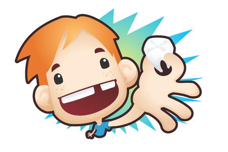 Illustration pour Loose Tooth - image libre de droit