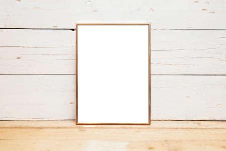 Photo for 8x10 18x20 Frame Mockup, Styled Mockup on Wood - Royalty Free Image