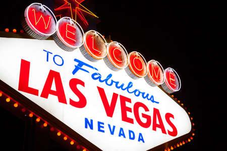 Las Vegas Welcome Sign Wallpaper Mural