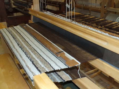 Loom with carpet