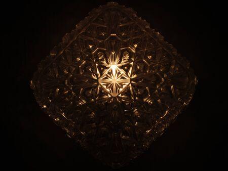 Lightened lamp
