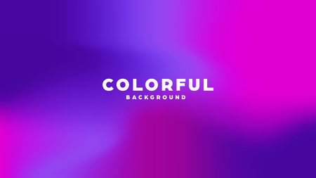 Illustration pour Colorful modern abstract background with neon gradient. Dynamic color flow poster, banner. Vector illustration - image libre de droit