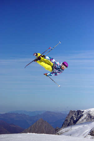 Freestyle ski jumper  3