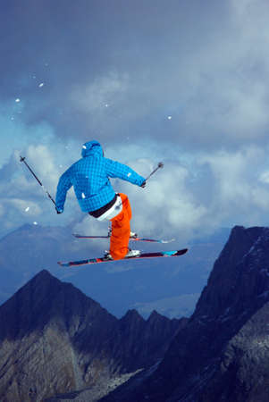 Freestyle ski jumper  2