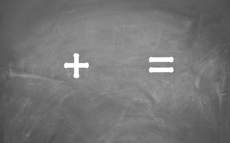 plus and equal sign symbol
