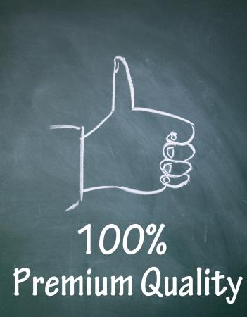 100  premium quality symbol