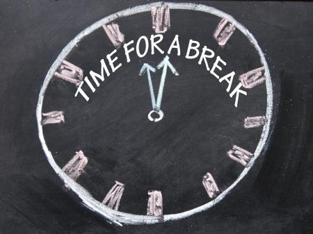 time for break clock