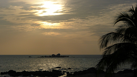 Sanya ends of the world sunset