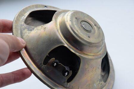 Photo for Broadband speaker 5gdsh-4-4. a Old Soviet speaker. - Royalty Free Image