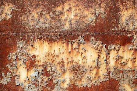Photo pour Metal old background. Metal surface rusty and coarse - image libre de droit