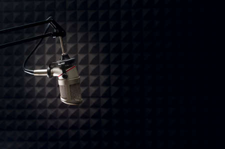 Photo for studio microphone - Royalty Free Image