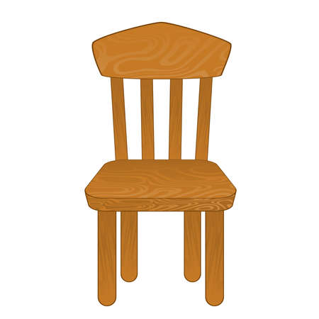 Chair isolated. Vector illustration