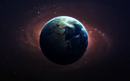 The Earth from space.
