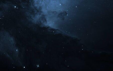 Deep black space